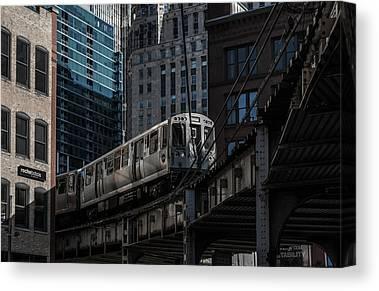 Chicago Loop Canvas Prints