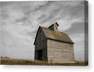 Old Barns Canvas Prints