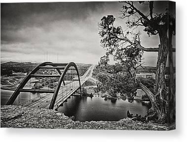 Austin 360 Bridge Canvas Prints