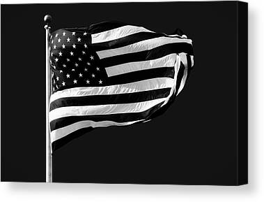 Flag Pole Canvas Prints