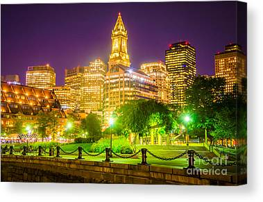 Custom House Tower Canvas Prints