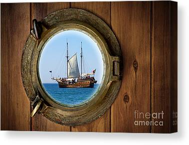 Pirate Ship Canvas Prints