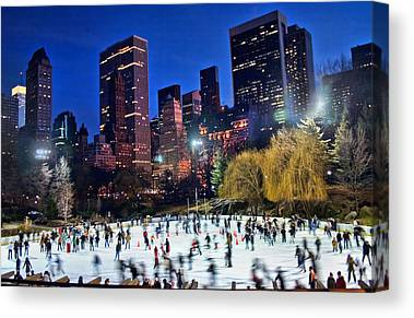 Central Park Canvas Prints