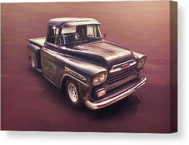 Street Rods Photographs Canvas Prints