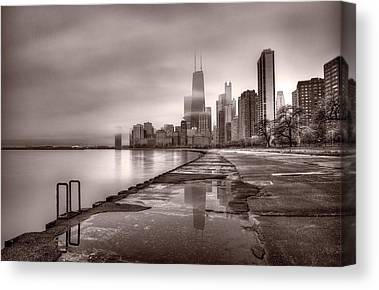 Chicago Reflections Canvas Prints