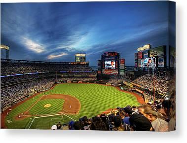 New York Mets Stadium Canvas Prints