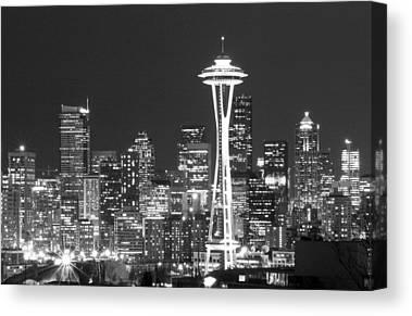 Seattle Canvas Prints
