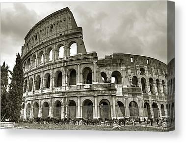 Colosseum Canvas Prints