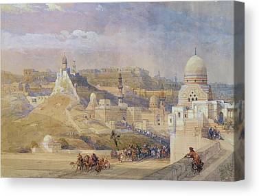 Ottoman Paintings Canvas Prints