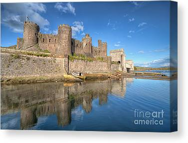 Conwy Castle Canvas Prints