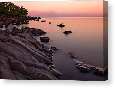 Dimming Of The Day A Wonderful Song By Bonnie Raitt Sunset Calm Peace Canvas Prints
