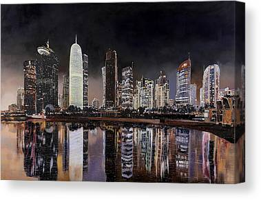 Doha Canvas Prints