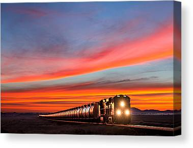 Cargo Containers Canvas Prints