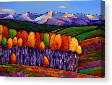 Vivid Colors Canvas Prints
