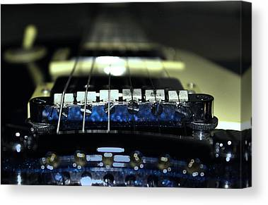 Epiphone Guitar Canvas Prints