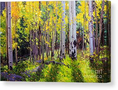 Santa Fe National Forest Canvas Prints