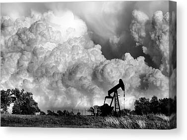 Grey Clouds Canvas Prints
