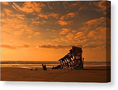 Peter Iredale Canvas Prints