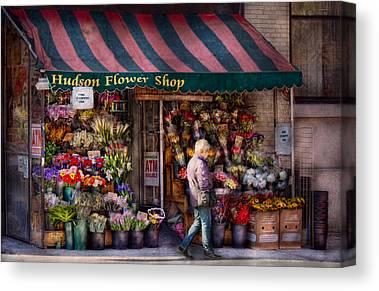 Online Flower Shop Canvas Prints