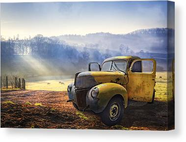 Foggy Canvas Prints