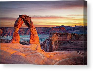 Rock Formations Canvas Prints