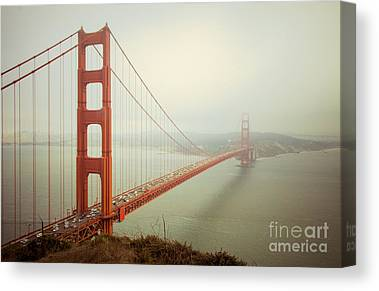 San Francisco Photographs Canvas Prints