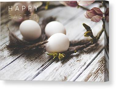Easter Baskets Canvas Prints