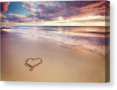 Heart Images Canvas Prints