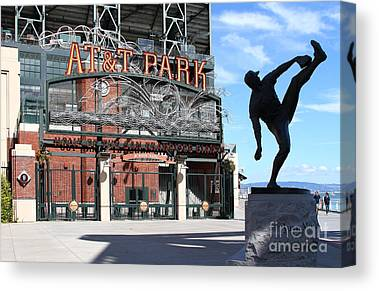 San Francisco Giants Ball Park Canvas Prints