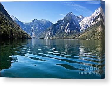 Lakeside Canvas Prints