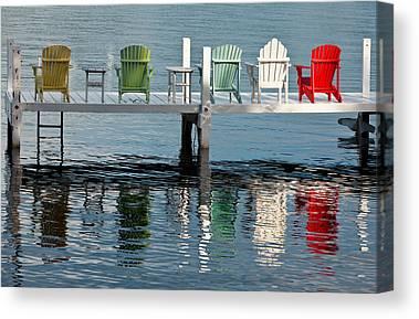 Lake Geneva Wisconsin Canvas Prints