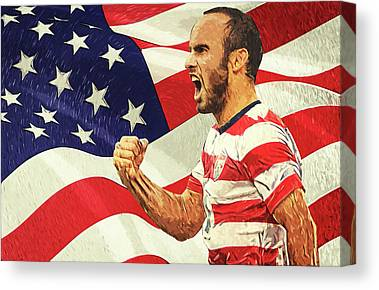 Landon Donovan Canvas Prints
