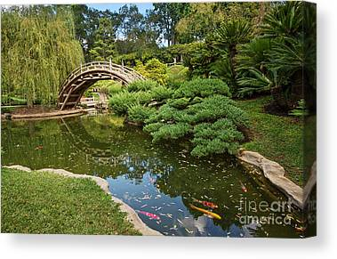 Japanese Gardens Canvas Prints