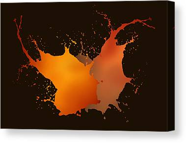 Sine Digital Art Canvas Prints