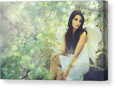Angel Digital Art Canvas Prints