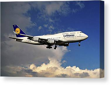 Airlines Canvas Prints