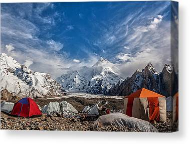 Karakoram Canvas Prints