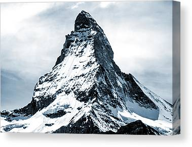 Matterhorn Mixed Media Canvas Prints