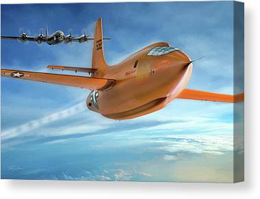 Breaking Sound Barrier Canvas Prints