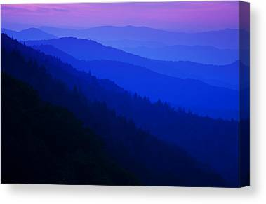 Great Smokies Canvas Prints