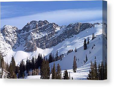 Wasatch Mountains Canvas Prints