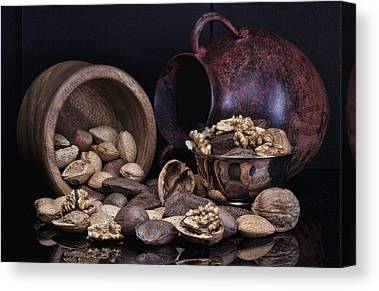 Wooden Bowl Canvas Prints