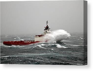 Offshore Canvas Prints