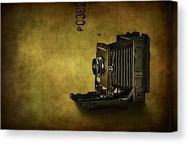 Vintage Camera Canvas Prints