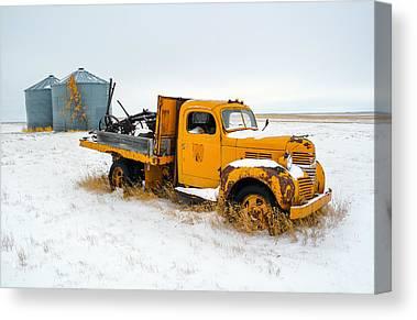 Vintage Trucks Canvas Prints