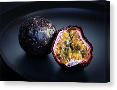 Passion Fruit Canvas Prints