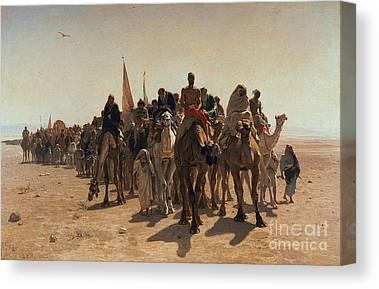 Sahara Canvas Prints