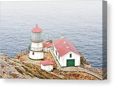 Point Reyes Lightstation Canvas Prints