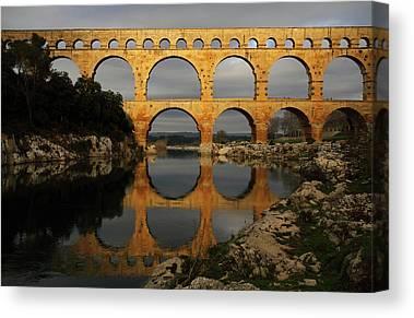 Aqueduct Canvas Prints