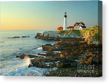 Rocky Maine Coast Canvas Prints